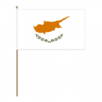 Cyprus Country Hand Flag - Large.